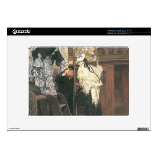 Entry to the yacht by James Tissot Skins For Large Netbooks