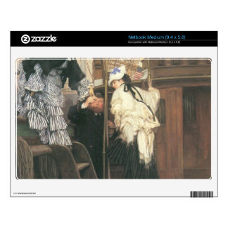 Entry to the yacht by James Tissot Decal For Medium Netbook