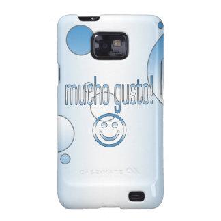 ¡Entusiasmo de Mucho! La bandera de Guatemala colo Samsung Galaxy S2 Carcasa