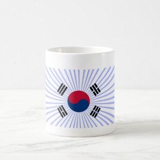 Entusiasmo del por de Taza de coreano