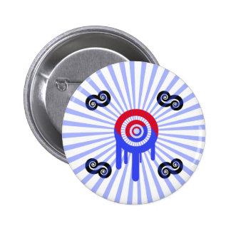 Entusiasmo del por del coreano de Chapa Pins