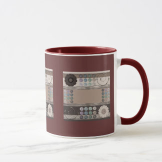 Entusiasta de costura taza