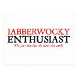Entusiasta de Jabberwocky Postal
