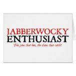 Entusiasta de Jabberwocky Tarjetas