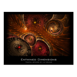Entwined Dimensions Fractal Artist Card