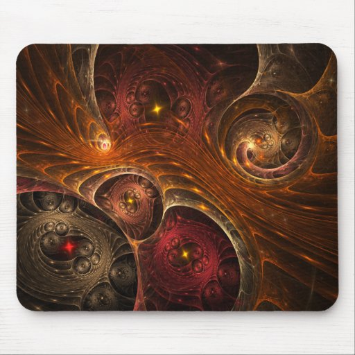 Entwined Dimensions Mouse Pad