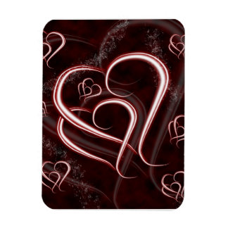 Entwined Forever Love Hearts Magnet