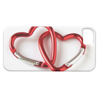Entwined heart carabiners iPhone 5 covers