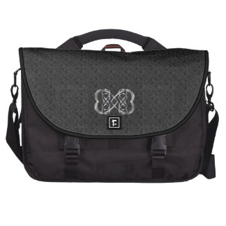 Entwined Hearts Double Infinity 1 - Laptop Bag