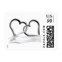 Entwined Hearts Love Stamps