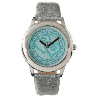 Entwined Hearts Wrist Watch