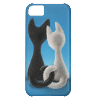Entwined Kitties iPhone 5C Cover