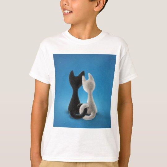 Entwined Kitties T-Shirt