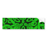 Entwined Snakes Bumper Sticker
