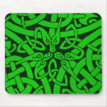 Entwined Snakes Mouse Pad