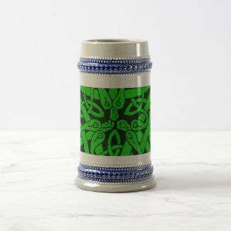 Entwined Snakes 18 Oz Beer Stein
