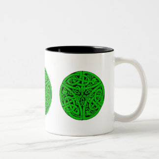 Entwined Snakes Two-Tone Coffee Mug