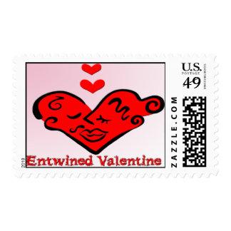 Entwined Valentine Postage