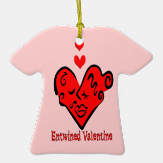 Entwined Valentine T-Shirt Ornament