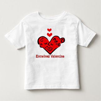 Entwined Valentine Toddler T-shirt