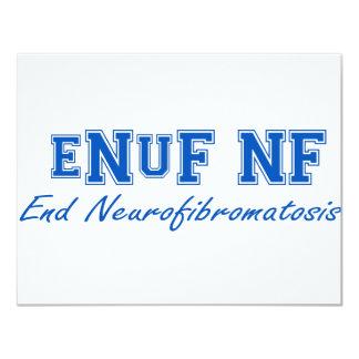 eNuF N-F Invitación 10,8 X 13,9 Cm