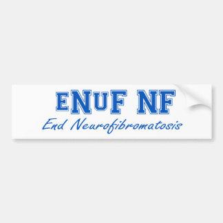 eNuF N-F Pegatina De Parachoque