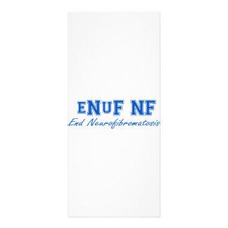 eNuF N-F Tarjeta Publicitaria A Todo Color