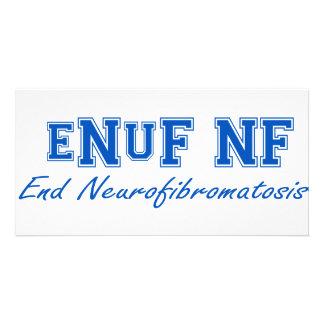 eNuF N-F Tarjetas Personales Con Fotos