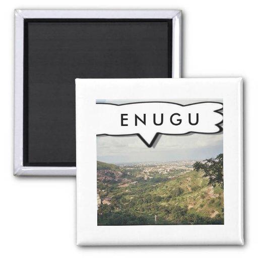 Enugu, Nigeria Customized Button 2 Inch Square Magnet