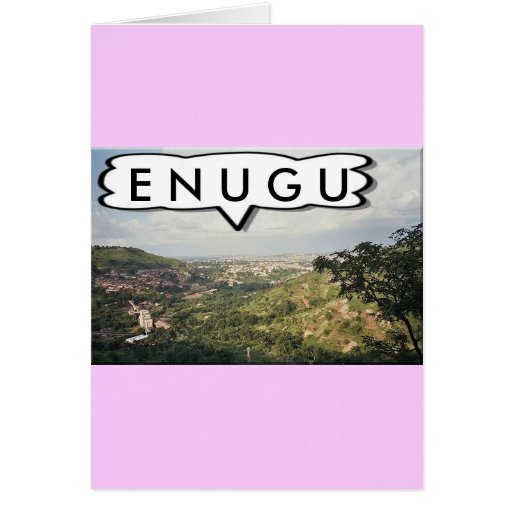 Enugu, Nigeria Customized Greeting Cards