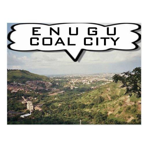 Enugu, Nigeria Customized Greeting Cards Postcards