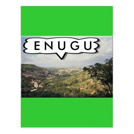 Enugu, Nigeria Customized Greeting Cards Post Card