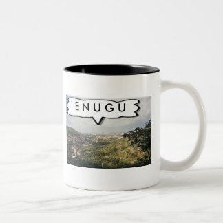 Enugu, Nigeria Customized Teacup Two-Tone Coffee Mug