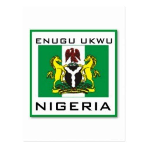 Enugu Ukwu, Anambra State Nigeria Gift (Africa) Post Cards