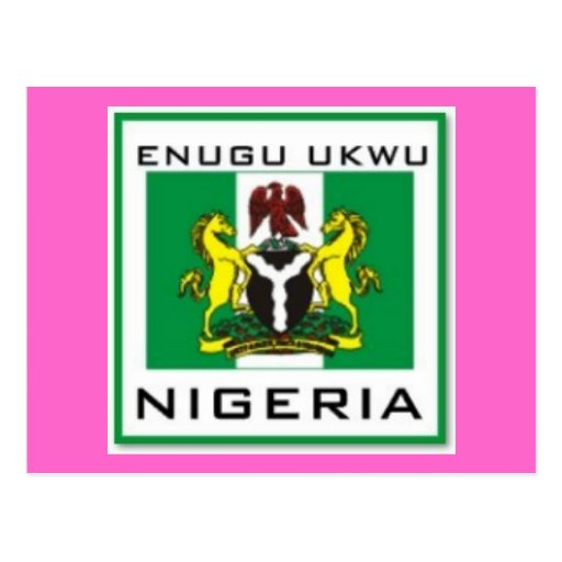 Enugu Ukwu, Anambra State Nigeria Gift (Africa) Post Card