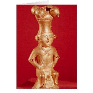 Envase de Quimbaya en la forma Tarjeton