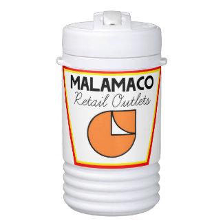 Envase líquido aislado venta al por menor de enfriador de bebida igloo