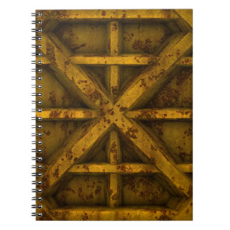 Envase oxidado - amarillo - libro de apuntes
