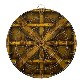 Envase oxidado - amarillo - tabla dardos
