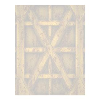 Envase oxidado - amarillo - membrete personalizado