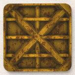 Envase oxidado - amarillo - posavasos