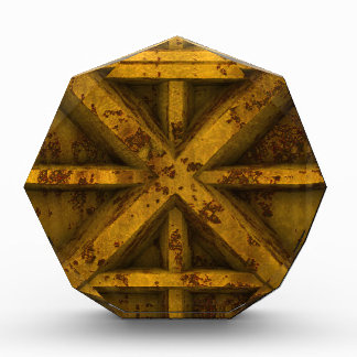 Envase oxidado - amarillo -