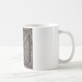 Envase oxidado - beige - taza básica blanca