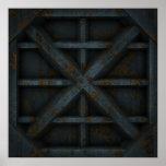 Envase oxidado - negro - posters