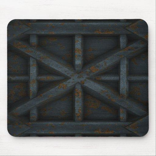 Envase oxidado - negro - tapete de ratón
