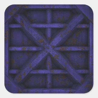 Envase oxidado - púrpura - etiqueta