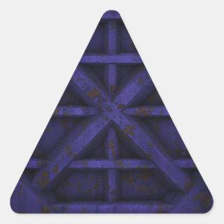 Envase oxidado - púrpura - colcomanias trianguladas personalizadas