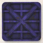Envase oxidado - púrpura - posavasos de bebida