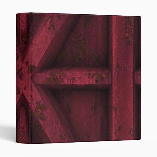 "Envase oxidado - rojo - carpeta 1"""