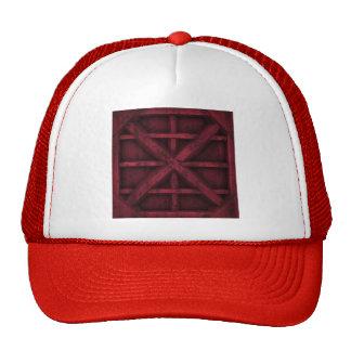 Envase oxidado - rojo - gorras de camionero